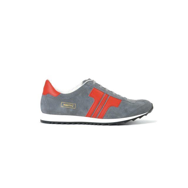 Tisza shoes - Martfű - Grey-red