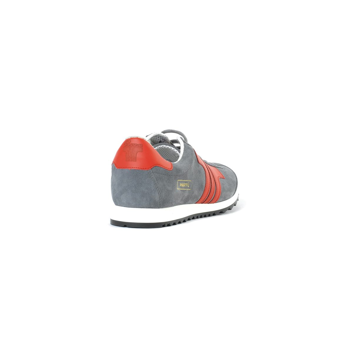 Tisza shoes - Martfű - Grey-red