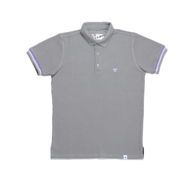 Tisza shoes - Tennis shirt - Grey-purple