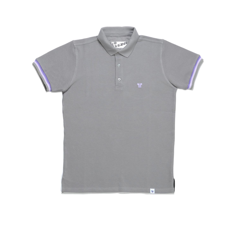 Tisza shoes - Tennis shirt - Grey-purple