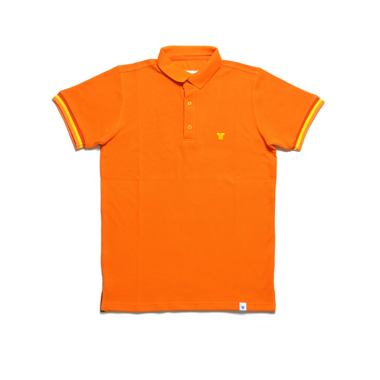 Tisza shoes - Tennis shirt - Deep orange