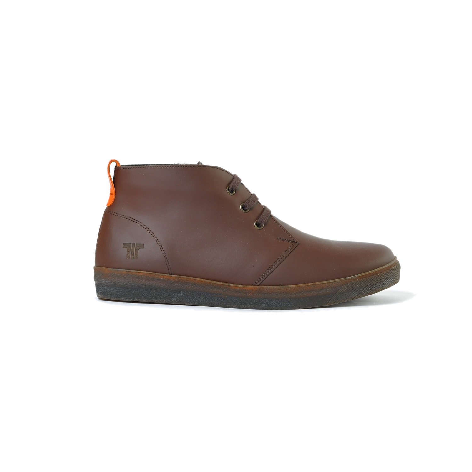 Tisza shoes - Alfa - Brown-orange padded