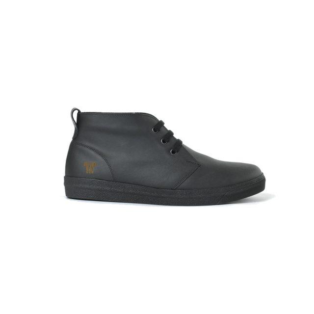 Tisza shoes - Alfa - Black padded