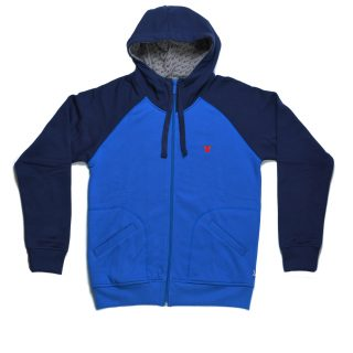 Tisza shoes - Pullover - Royal-violet hoodie