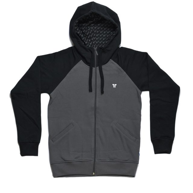 Tisza shoes - Pullover - Grey-black hoodie