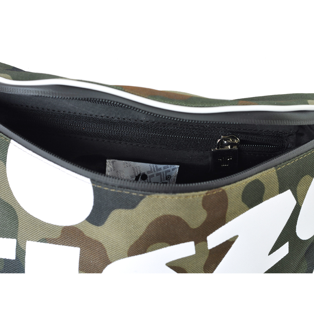 Tisza shoes - Large crossbody belt bag - Camouflage