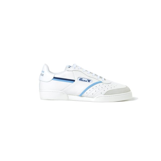 Tisza shoes - Sport - White-blue