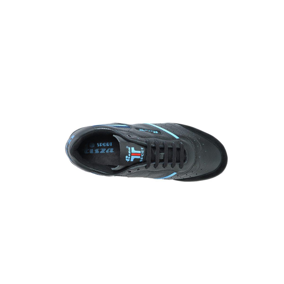 Tisza shoes - Sport - Black-blue