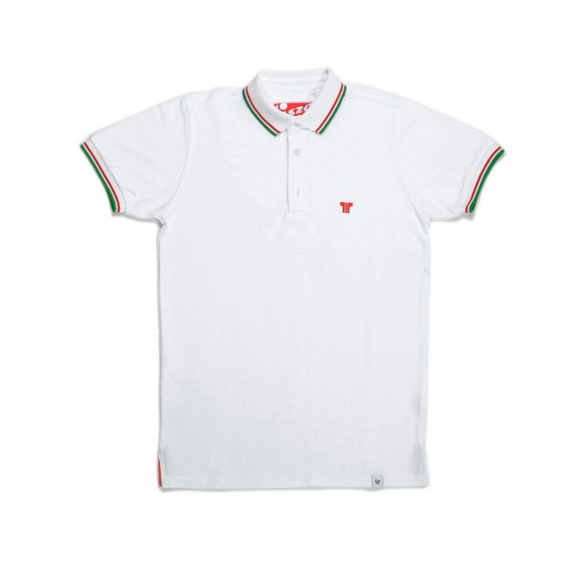 Tisza shoes - Tennis Shirt - White olympiad