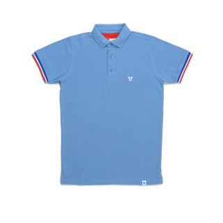 Tisza shoes - Tennis shirt - Steel-blue
