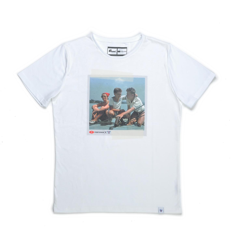 Tisza shoes - T-shirt - Sailboat
