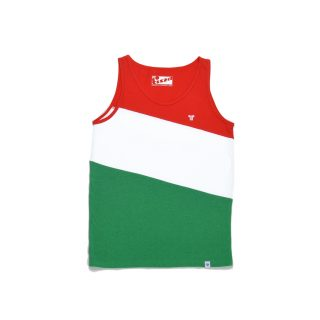 Tisza shoes - Undervest - Red-white-green