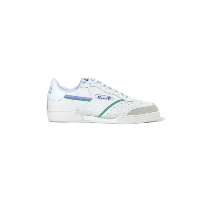 Tisza shoes - Sport - White-purple-green