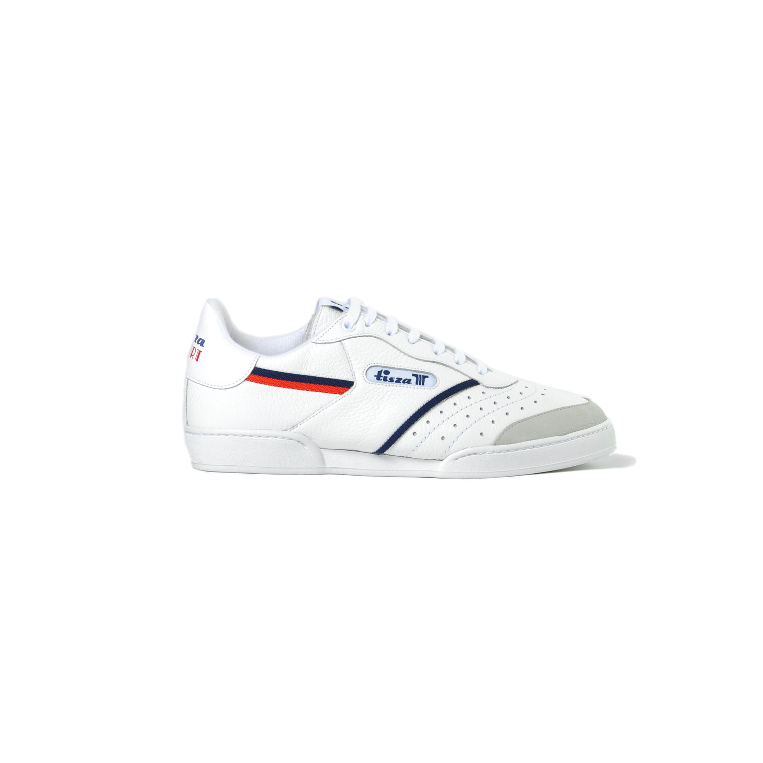 Tisza shoes - Sport - White-red-blue