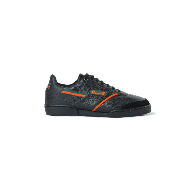 Tisza shoes - Sport - Black-green-orange