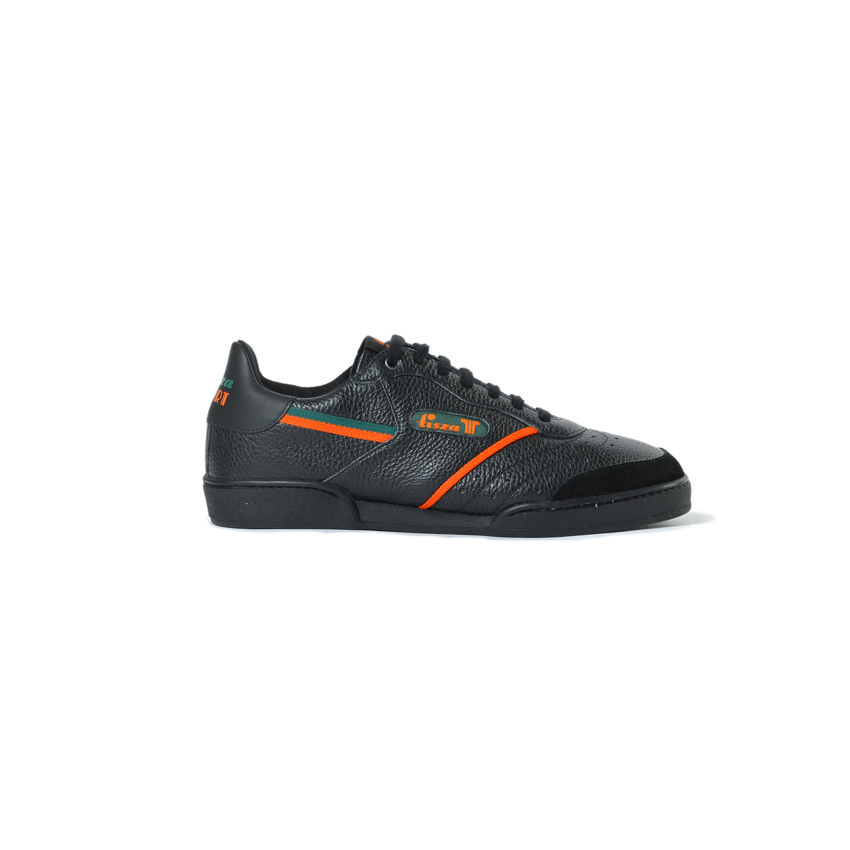 Tisza shoes - Sport - Black-green-orange
