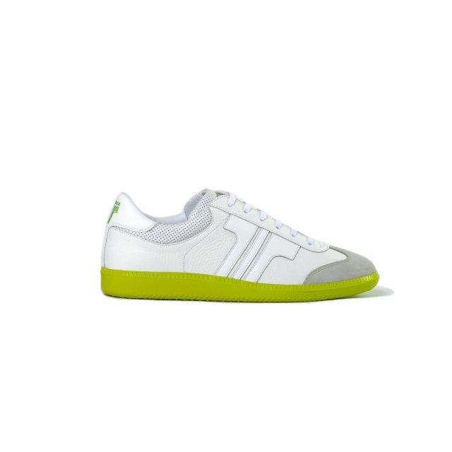 Tisza shoes - Compakt - White-lime