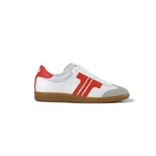 Tisza shoes - Compakt - White-red
