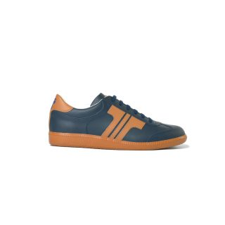 Tisza shoes - Compakt - Navy-tobacco