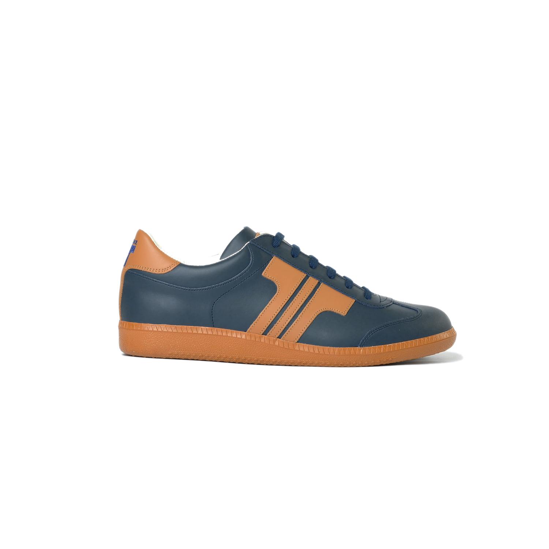 Tisza shoes - Compakt - Navy-tobacco