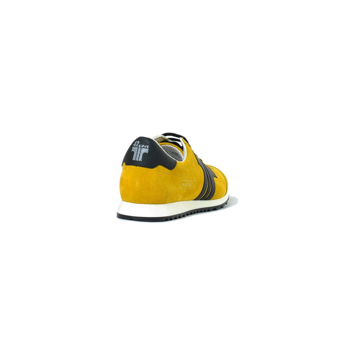 Tisza shoes - Martfű - Mustard-black