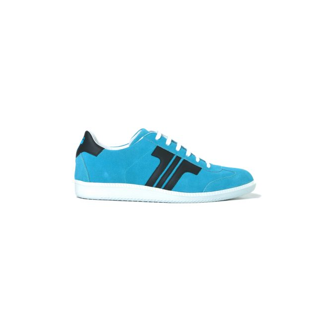 Tisza shoes - Comfort - Lightblue-black