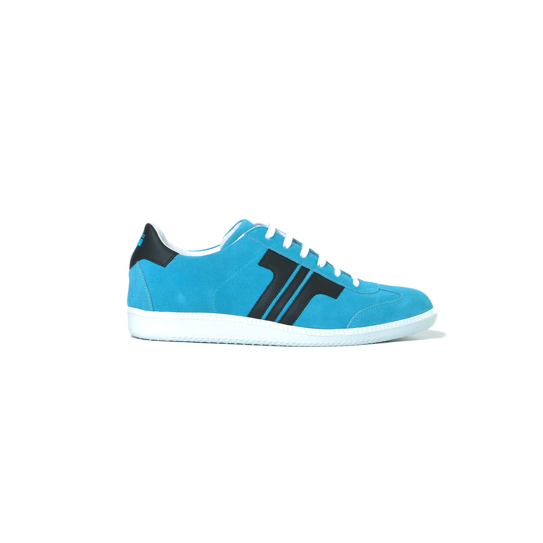 Tisza shoes - Comfort - Lightblue-black