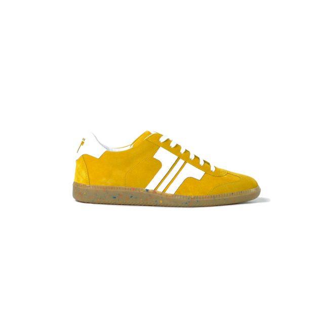 Tisza shoes - Comfort - Mustard-white