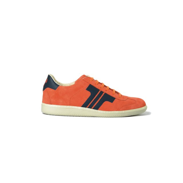 Tisza shoes - Comfort - Orange-blue