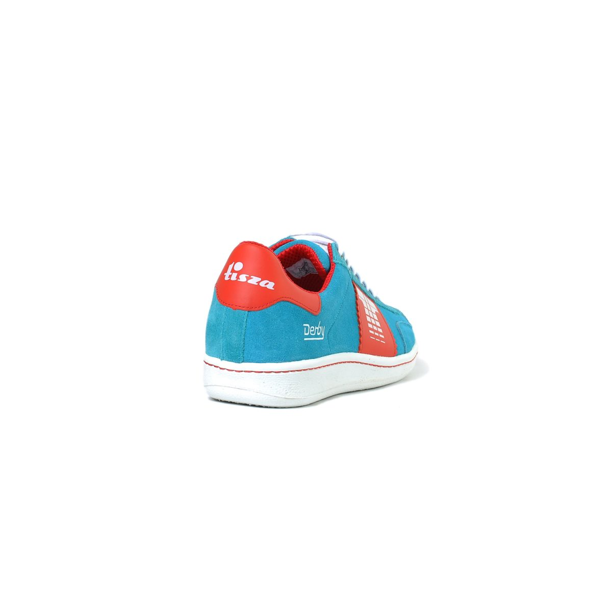 Tisza shoes - Derby - Lightblue-red