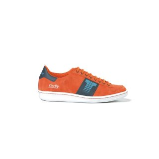 Tisza shoes - Derby - Orange-grey