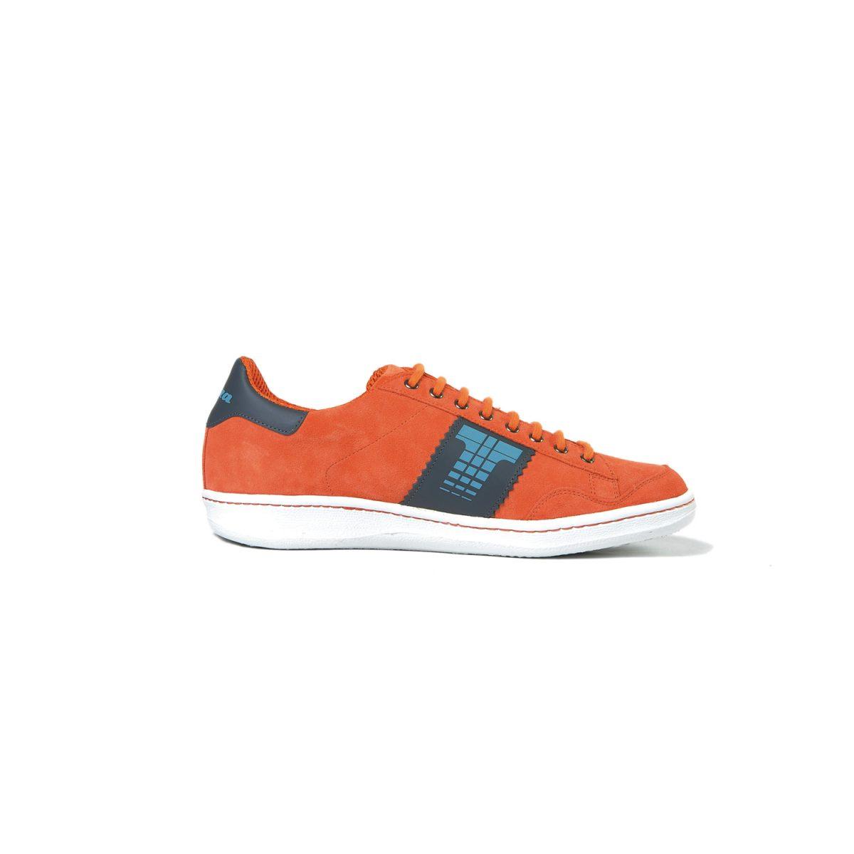 Tisza shoes - Derby - Orange-grey