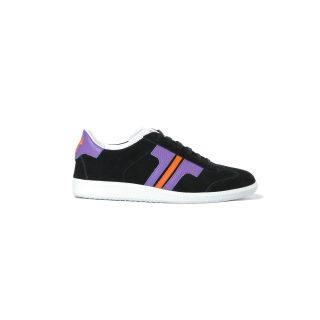 Tisza shoes - Comfort - Black-purple-orange