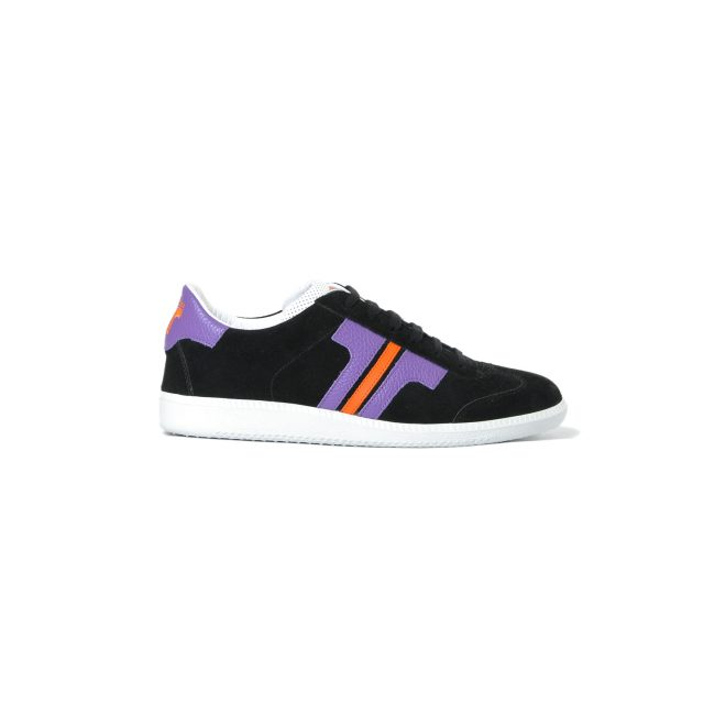 Tisza shoes - Comfort - Black-purple-orange