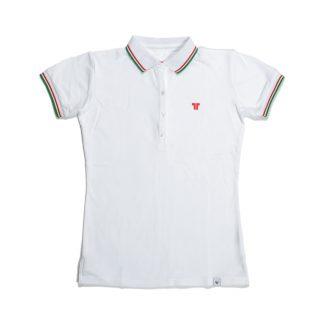 Tisza shoes - Women tennis shirt  - White-olympiad