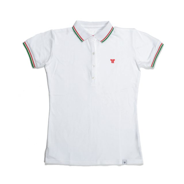 Tisza shoes - Women tennis shirt  - White-olympiad