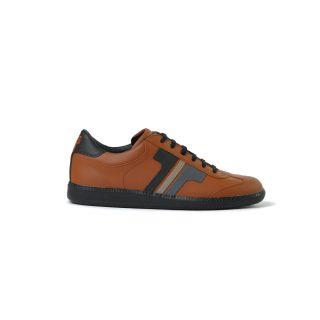 Tisza shoes - Compakt - Mahagony-black-grey-earth