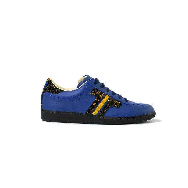 Tisza shoes - Compakt - Indigo-splash yellow