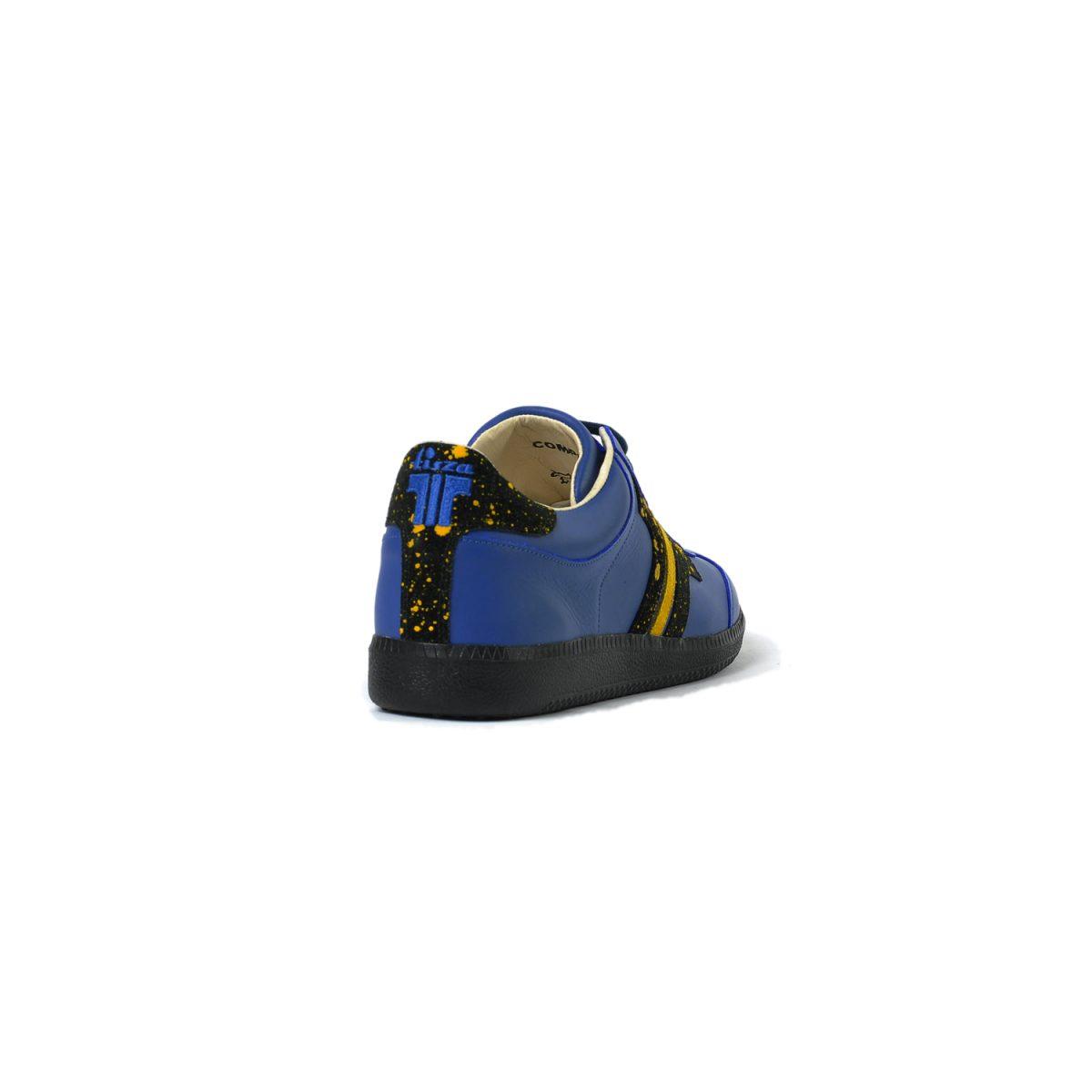 Tisza shoes - Compakt - Indigo-splash yellow