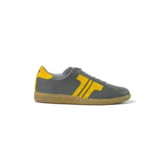 Tisza shoes - Compakt - Grey-mustard