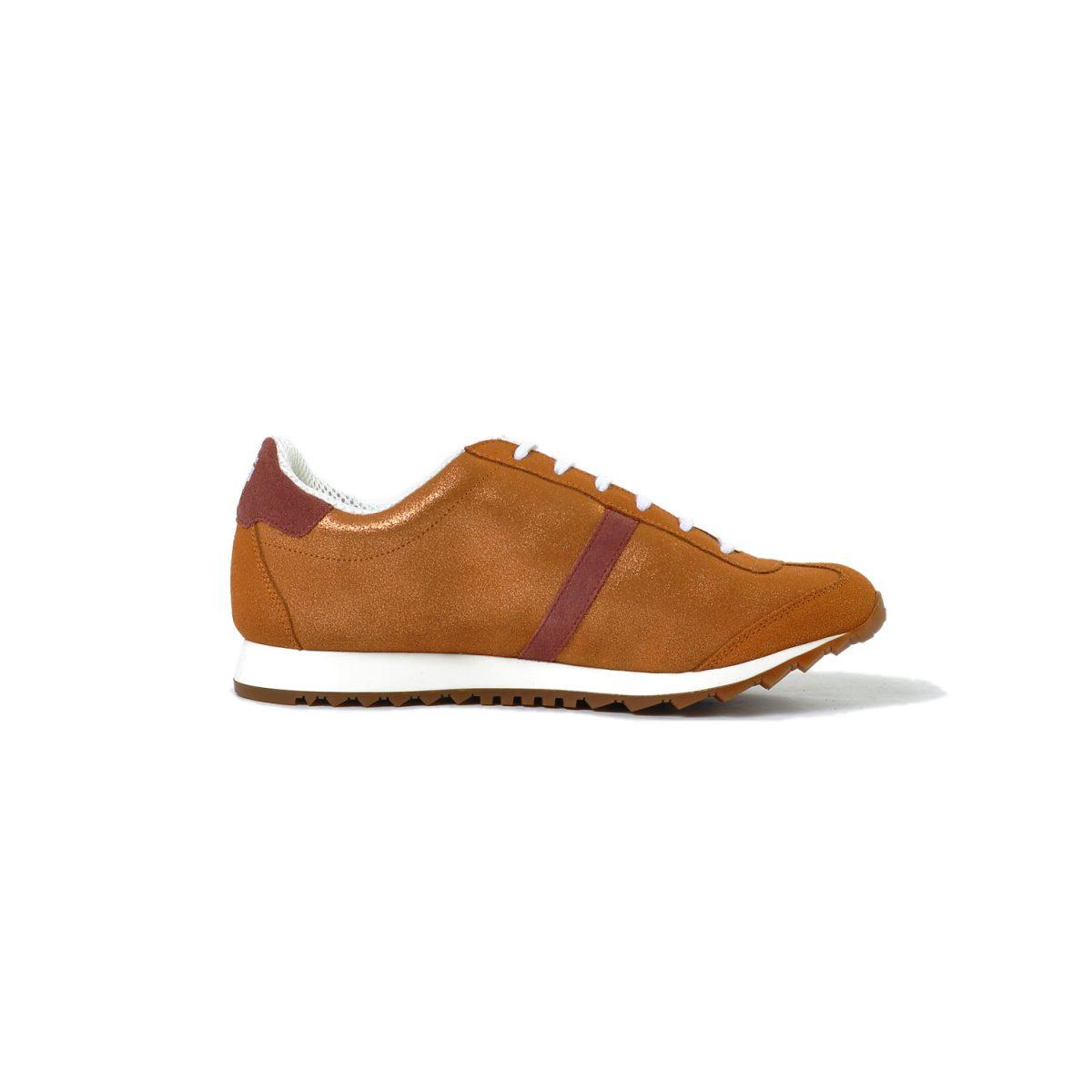 Tisza shoes - Martfű - Rosegold-maroon
