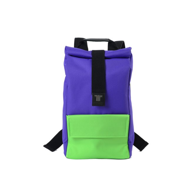 Tisza shoes - Backpack - Purple-green