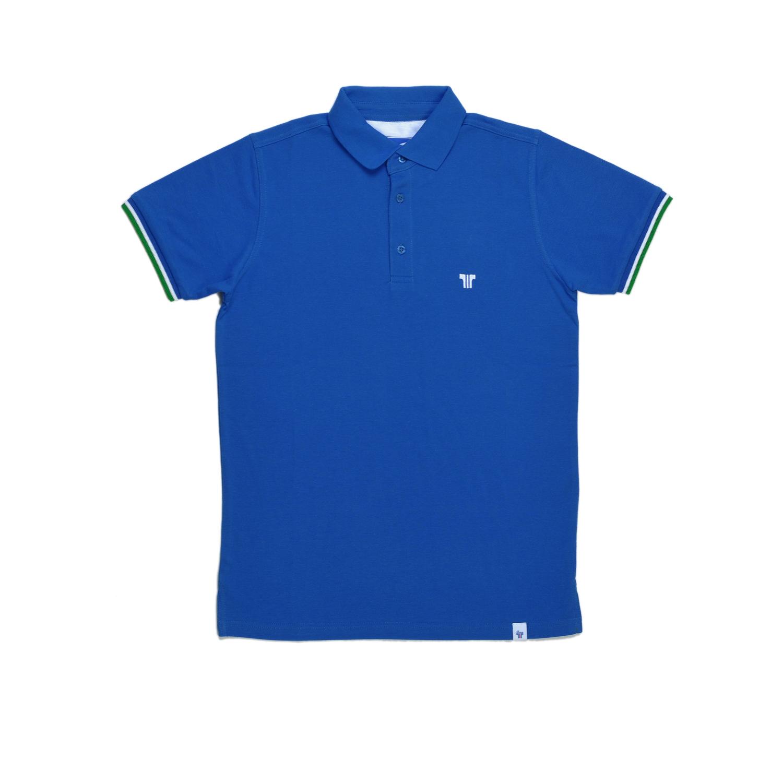 Tisza shoes - Tennis shirt - Royal