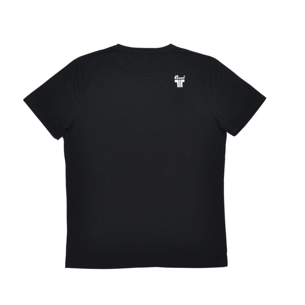 Tisza shoes - T-shirt - Black written