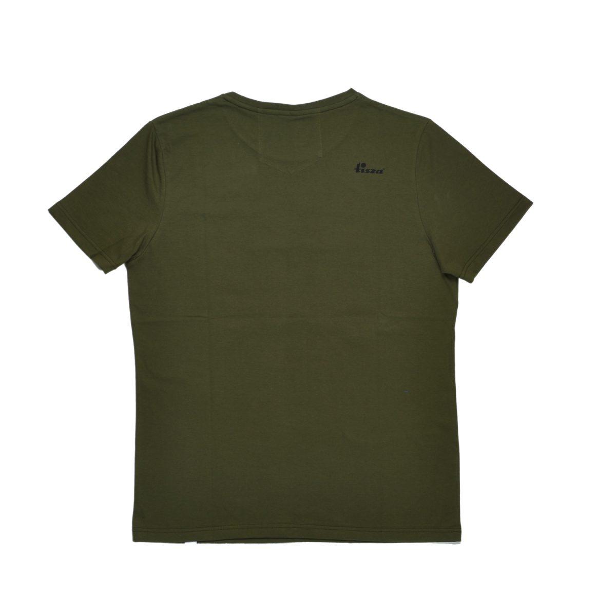 Tisza shoes - T-shirt - Khaki T-logo