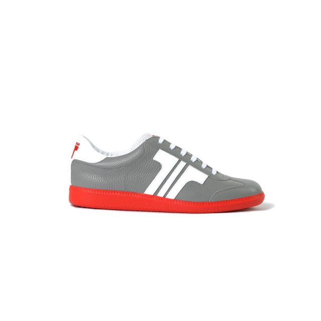 Tisza shoes - Compakt - Grey-white-red
