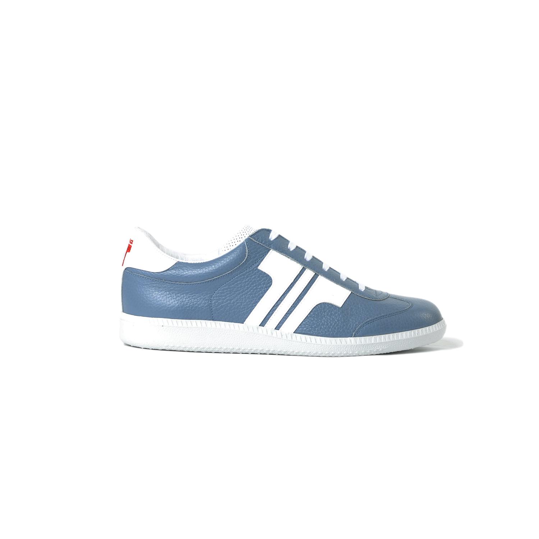 Tisza shoes - Compakt - Steel blue-white