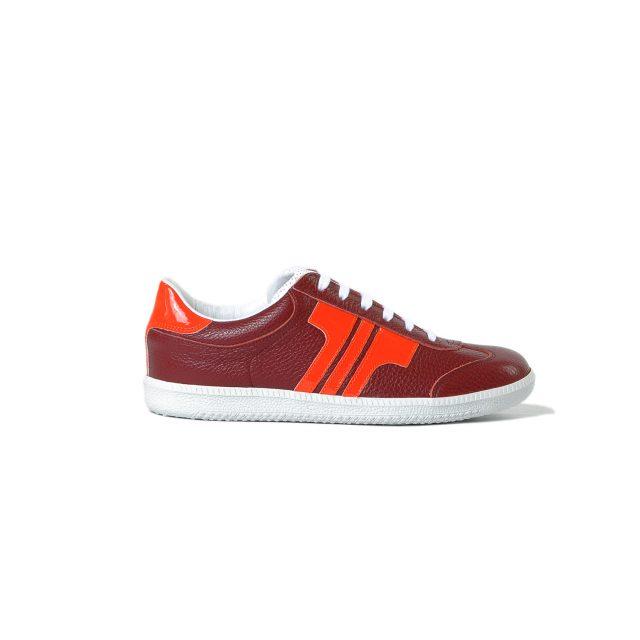 Tisza shoes - Compakt- Burgundy-lacquer