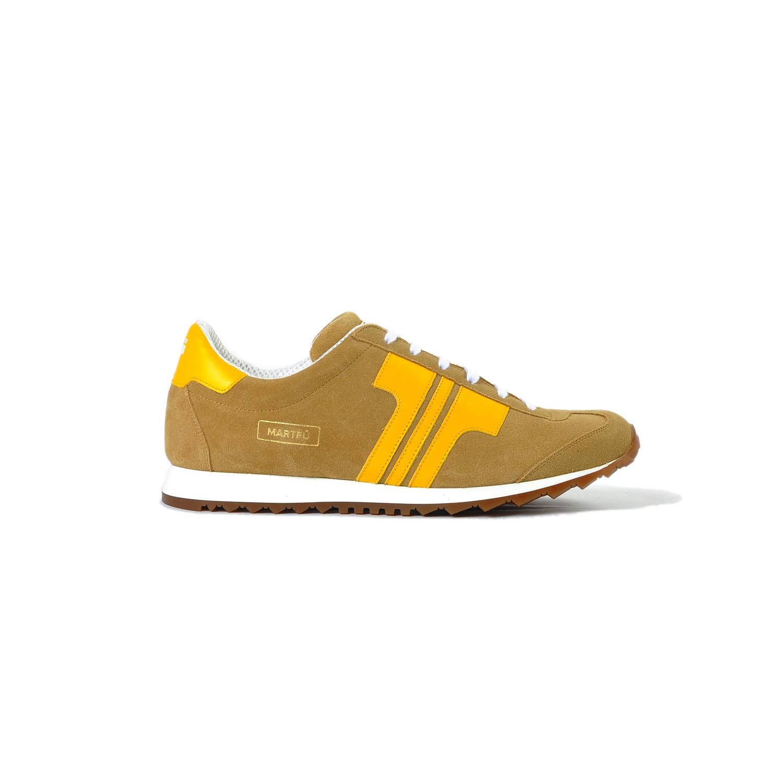 Tisza cipő - Martfű - Tobacco-yellow