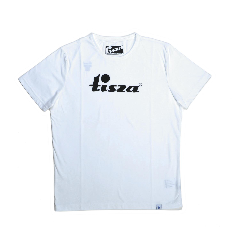 Tisza shoes - Tshirt - White written